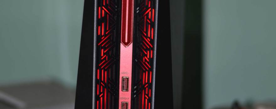 Asus ROG G20 Front With default Red Color