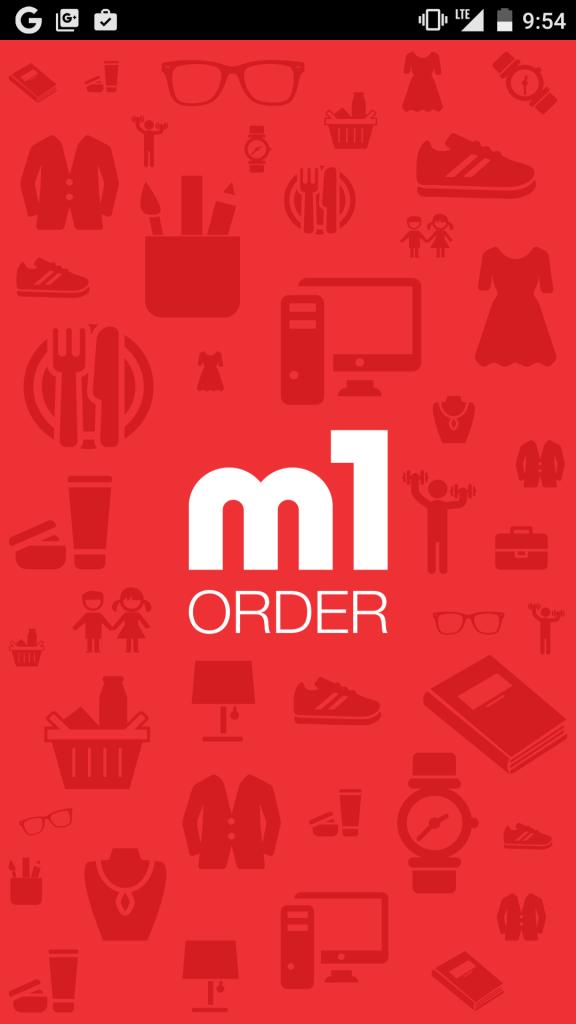 M1 Order app