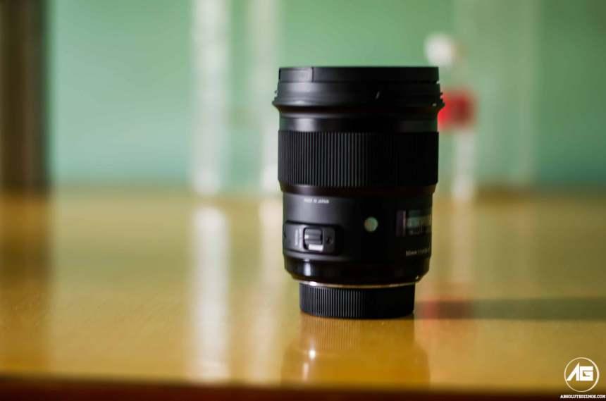 Sigma 50 mm F1.4 DG HSM Lens