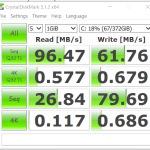 Asus R510J HDD benchmark