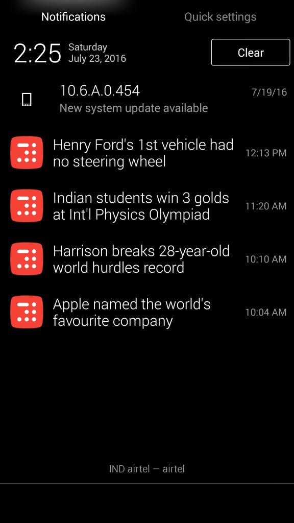 Inshort News App