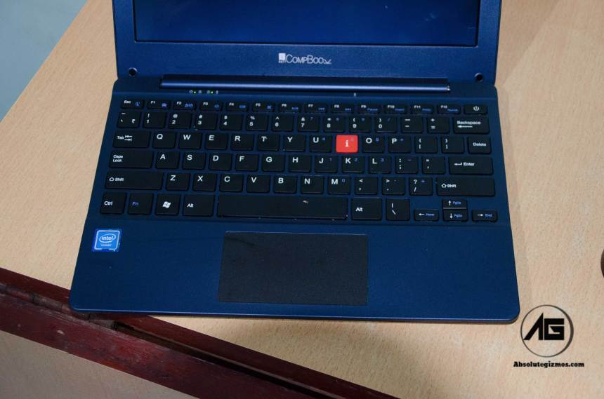 iBall CompBook keyboard