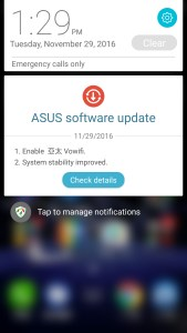 Asus ZenUI Software updates
