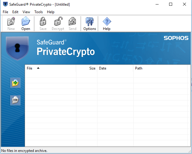 Safeguard Encryption 8