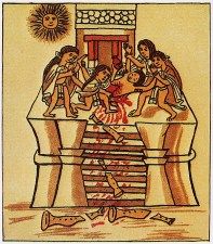 Sacred sacrifices in Aztec culture