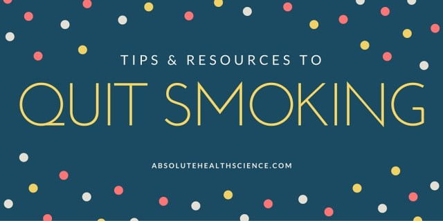 Tips & Resources to quit smoking FI