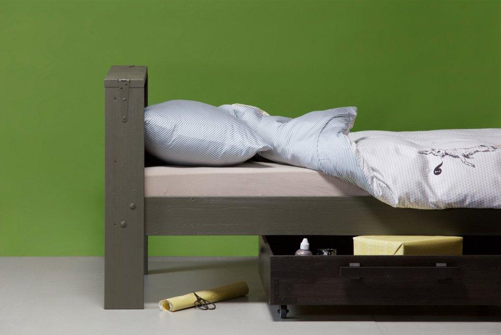 Derk Single Bed with Storage Drawer, £345