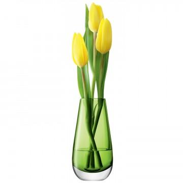 Lime Green Flower Colour Bud Vase From LSA International