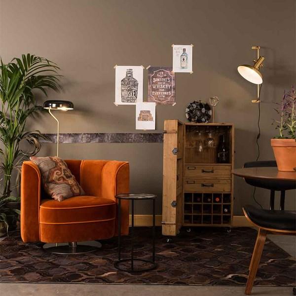 If you love Art Nouveau then you will love the Dutcbone Flower Tub Chair.
