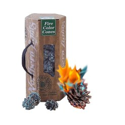 Northern Lights, Fire Colour Changing Fir Cones