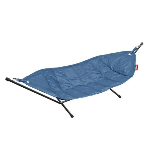 Large 2 Person Fatboy Hammock With Frame, Blue