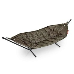 Large 2 Person Fatboy Hammock With Frame, Taupe