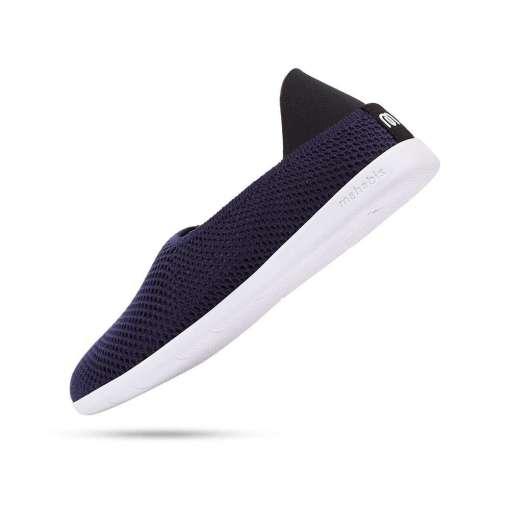 Mahabis Breath Summer Slippers, Oland Navy & White
