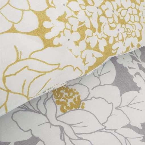 Saskia Floral Reversible Duvet Set By Catherine Lansfield