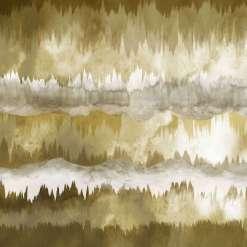 The Horizon Ochre Wall Mural, 300 x 280cm