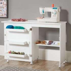 Compact Foldaway Concealed Home Desk