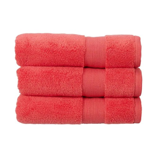 Living by Christy Carnival Towel, Coral, 70 x 125cm