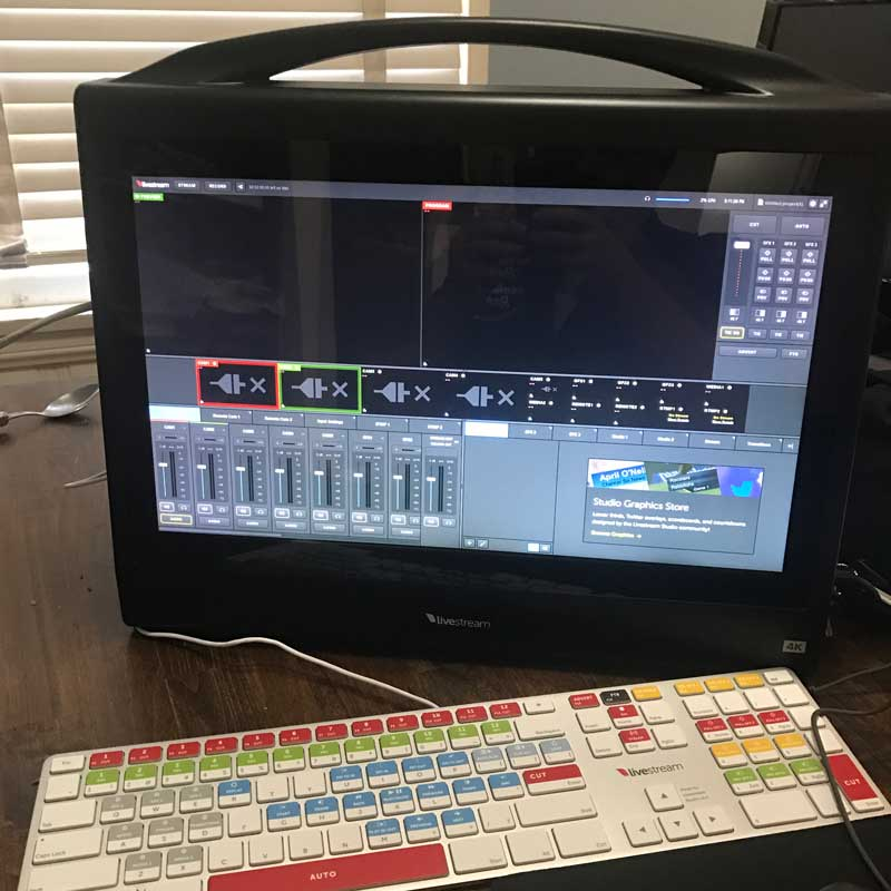 Livestream Studio HD550 Switcher