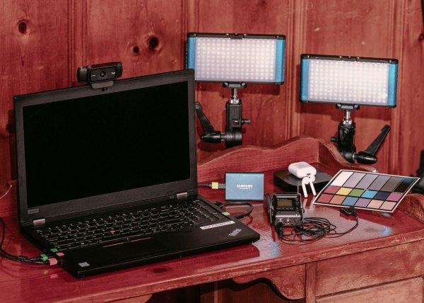Remote Live Stream Interview Kit