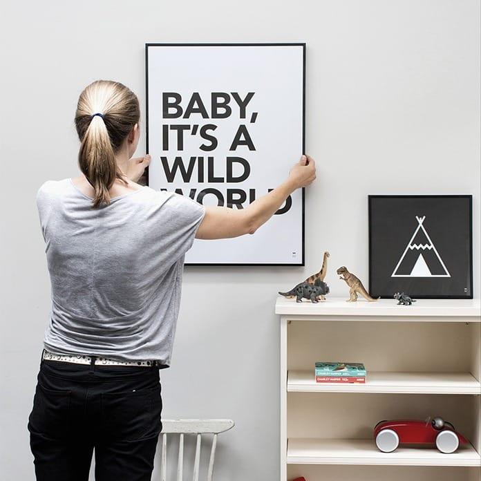 Wild Boys & Girls Wild World Poster