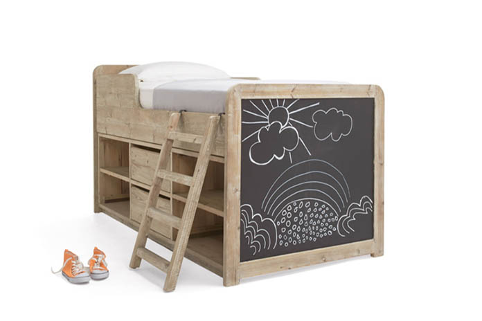 clamber doodle kids bed 2