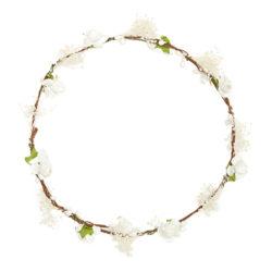 Ivory Floral Hair Garland £18; libertylondon.com