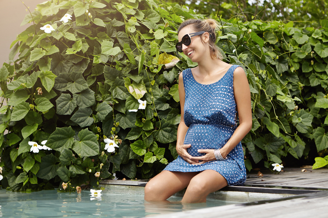 tips to keep cool when pregnant