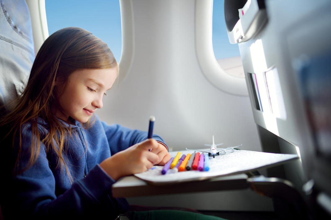 top tips for flying with children