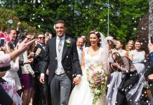 Real wedding: Irish castle celebration