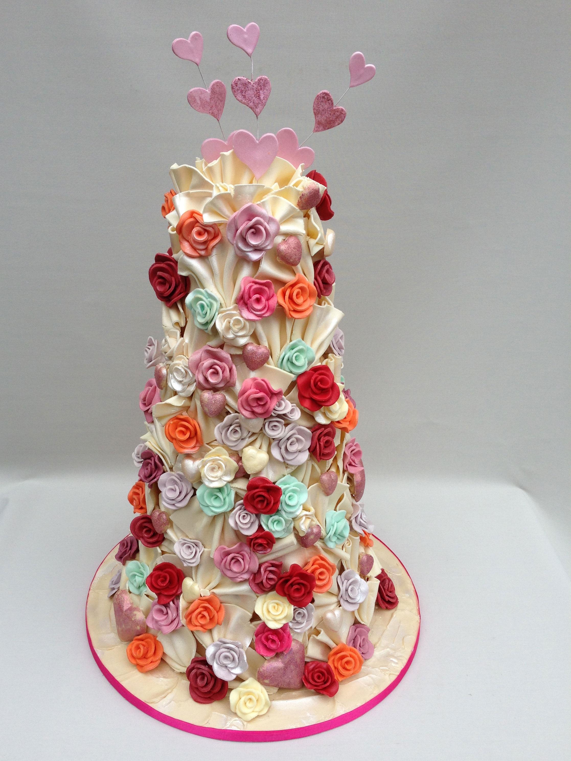 Sweet Paradise Eight Favourite Designer Wedding Cakes