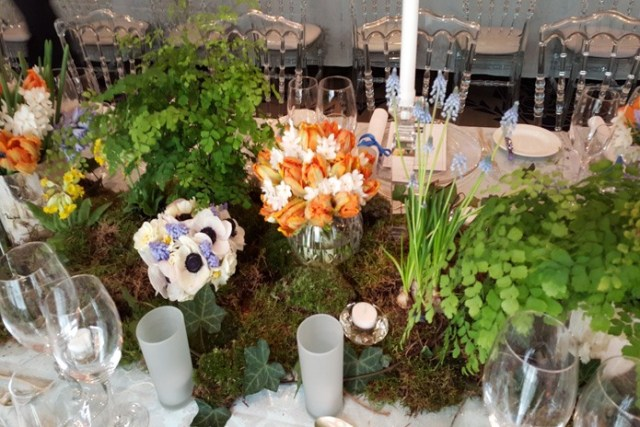 Wedding flowers: An inspired woodland design for a spring celebration