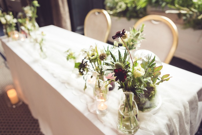 Wedding styling inspiration: Chic city romance at a summer wedding