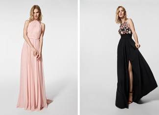 Pronovias offers online sales for its fabulous cocktail and red-carpet gown collection