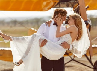 New Pronovias bridal collection on film, capturing the romance of East Africa