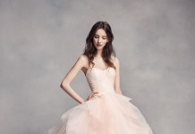 Bridal trend: Blush wedding gowns