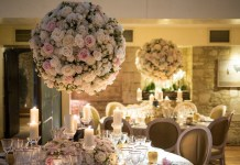 Dressing the best: Wedding flowers for a winter celebration at Le Manoir