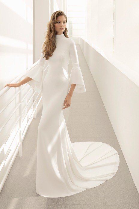 Bridal trend: Clean cut