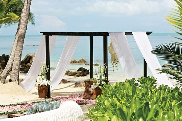 Thailand honeymoon resort