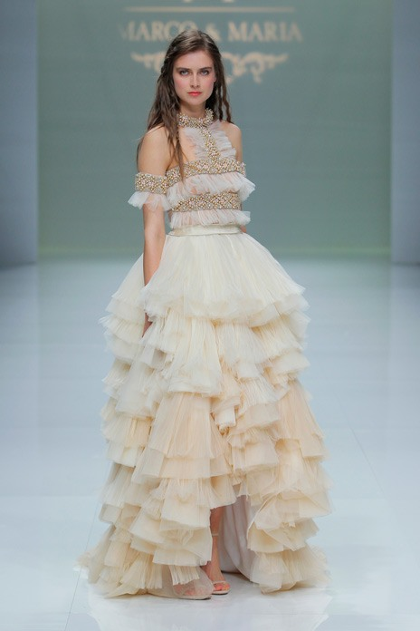 From frills to feathers – 8 bridal runway trends to watch for 2019