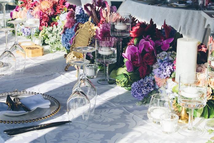Real wedding: A flower-filled celebration on the Cape
