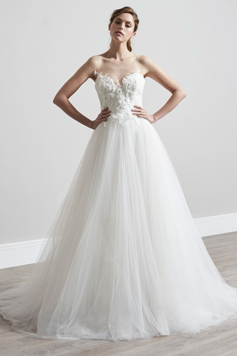 Bridal trend: Fairytale gowns for modern romantics