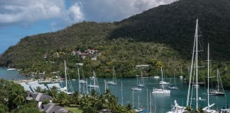 The perfect island life at Marigot Bay
