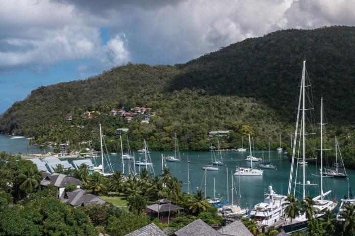 The perfect island life at Marigot Bay