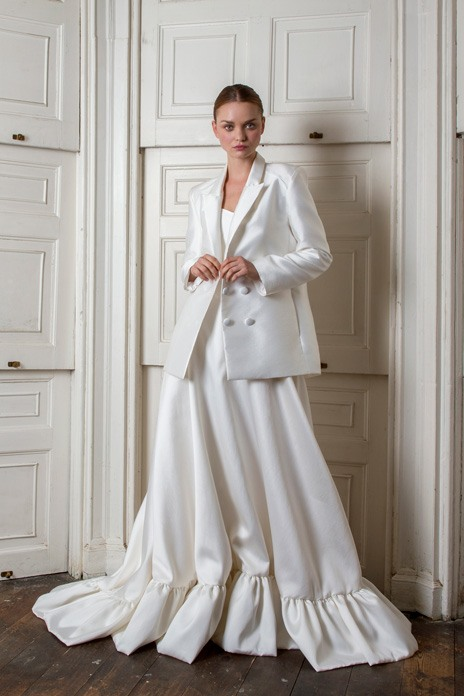 Bridal trend: Tailored luxe