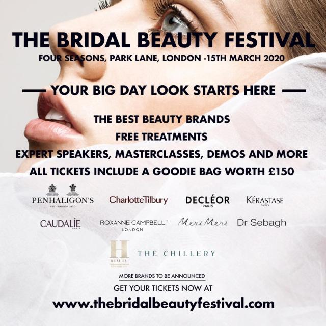 The Bridal Beauty Festival – your essential spring event