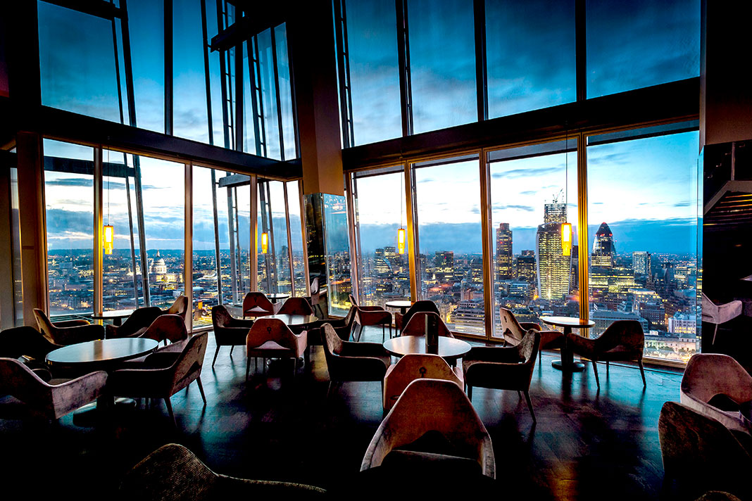 restaurants with a view