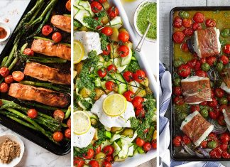 one tray recipes