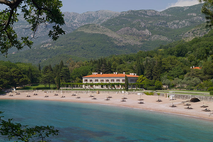 Rub Shoulders with the A-list at Sveti Stefan in Montenegro