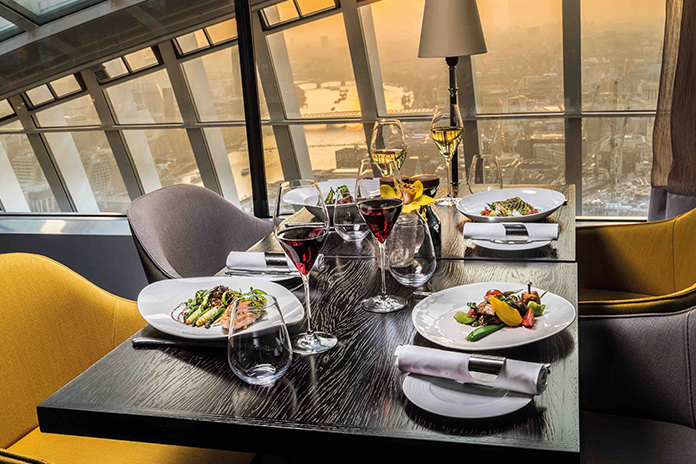 Sky Garden: An Interview With The High Rise's Resident Chef