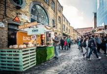 Foodie markets in London